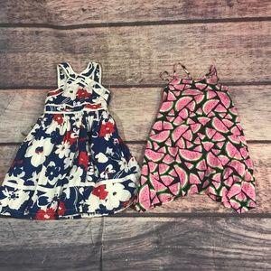 brand name girls dress bundle size 5/6 gap